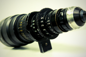Zoom Lense with Anamorphic back T4.5